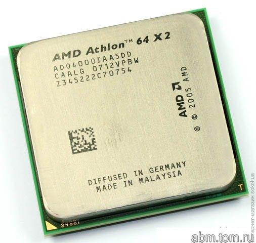 AM2 Процессор AMD Athlon 64 X2 4000+ 2.1 Ghz ADO4000IAA5DD