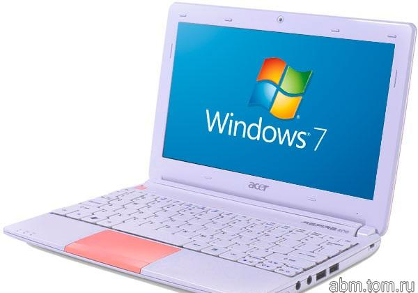 Ноутбук Acer Aspire One ZE6, Atom N570, 2gb, 400gb