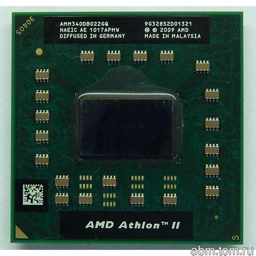 Процессор для ноутбука AMD Athlon II Mobile M340 2.2Ghz Socket-S1 amm340db022gq