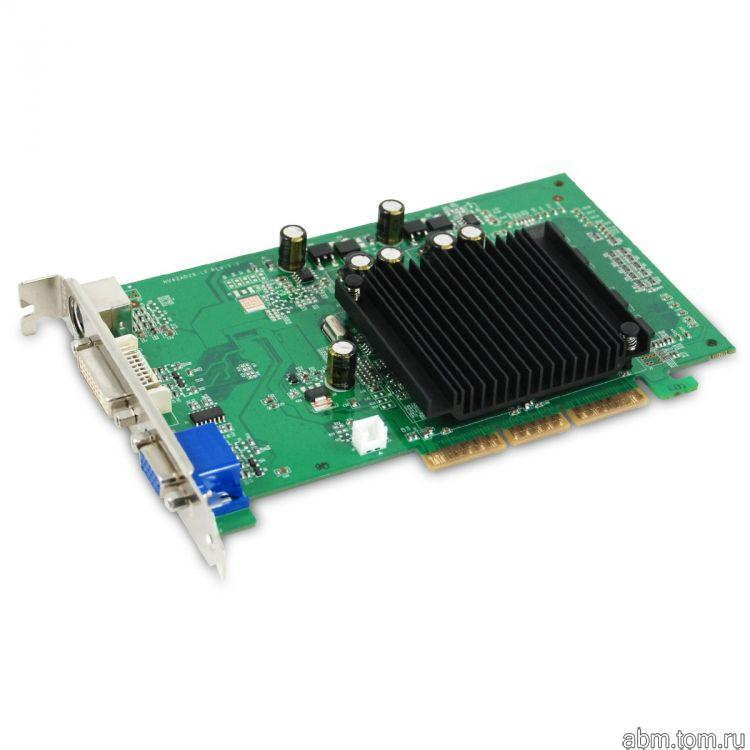 Видеокарта AGP GeForce 6200 512MB GDDR2 64bit 350/532MHz DV/D-Sub/S-Video RTL 512-A8-N403-EL
