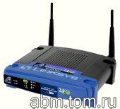 Точка доступа Linksys Instant Wireless-G (WAP54G)